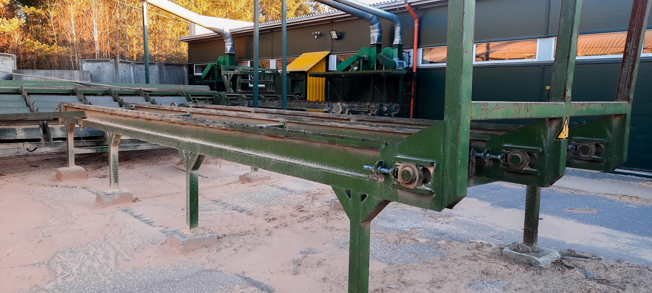 Rąstų rampa/ Logs storage platform